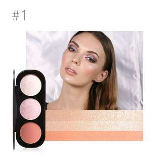 K13E95D9 - Makeup Wajah - Focallure Blush on and highlighter 1