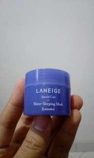 Laneige water sleeping mask [lavender] travel size