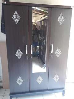 Lemari Pintu 3 with NEW DESIGN
