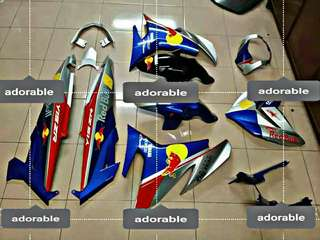 Coverset Y15 RedBull  full original Hly custom airbrush
