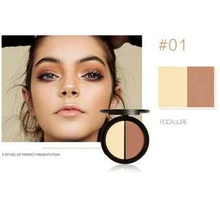 K13E95DB-Makeup Wajah- Focallure Counture and hightlighter powder 1