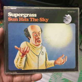 CD Single Supergrass - Sun Hits The Sky