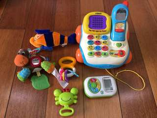 assorted baby toys lot set1