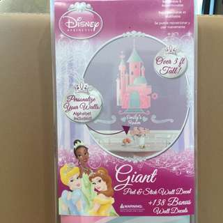 Brand NEW Disney Giant Peel & Stick Wall Decal for room