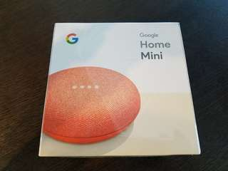 Google Home Mini 橙色特別版  現貨