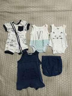 Bundle - Baby Boy's Clothes