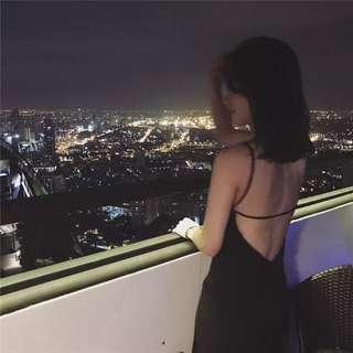 [PO] Sexy Bare Back Dress
