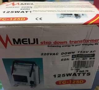 Transformer 125 watts