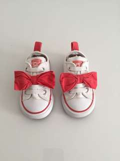 Converse All Star with Ribbon Kids Shoes