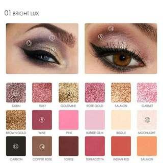 K13E593C-Eye Shadow- Focallure Eyeshadow pallete 18 color 1