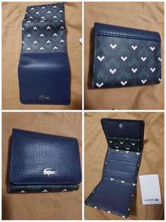 Preloved with love Authentic Lacoste Wallet
