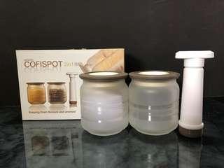 Glass Jar Set (2 pcs)