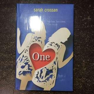 One by sarah crossan book hardbound