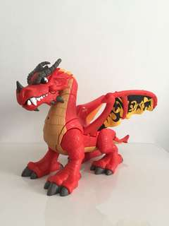 Fisher Price Castle Dragon Kids Toy
