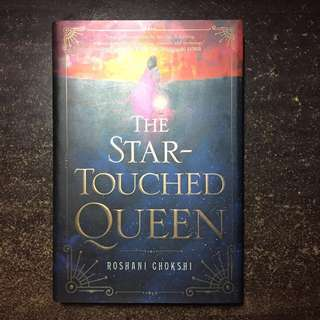 The star touched queen hardbound roshani chokshi