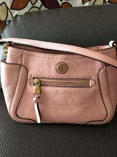 Tory Burch 靚靚粉紅 cross-body bag 超低價