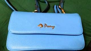 PONY SLING BAG WITH WALLET