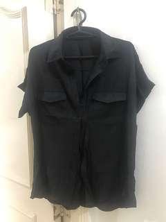 Woman Black Blouse (Never worn)