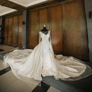 2-in-1 WEDDING GOWN