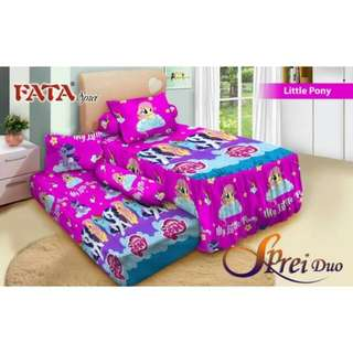 Sprei fata sorong Little Pony