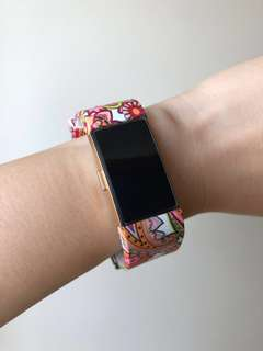 Fitbit Charge 2 Pink Paisley Design Straps