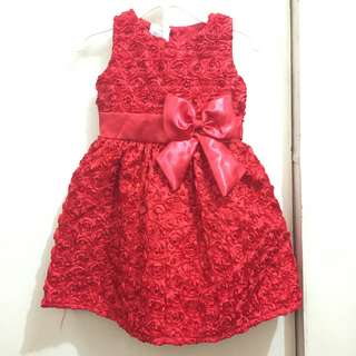 Red Party Dress for kids