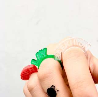[READY STOCK] EXO SMTOWN Gift Shop Acrylic Ring