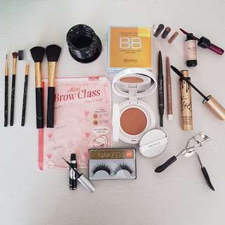 Full package for makeup new items