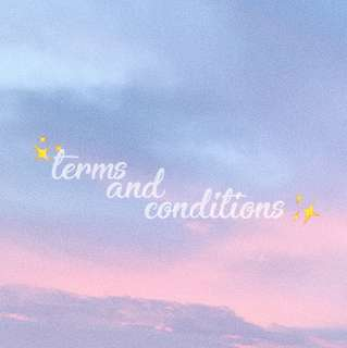 「 terms and conditions  」