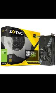 Zotac 6GB MINI gtx 1060