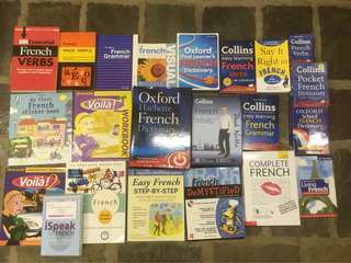 Learn French books and audio