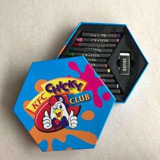KFC Chicky Club Crayons