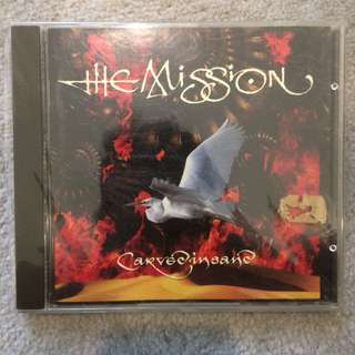 The mission - carved in sand cd