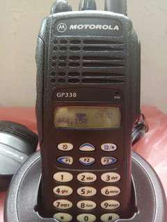 Motorola GP338對講機套裝