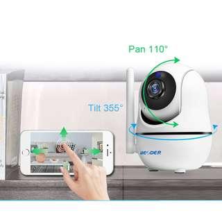 BESDER HD Home Security IP Camera 720P Wireless Smart WiFi Camera Audio Record Surveillance Baby Monitor HD Mini CCTV Camera