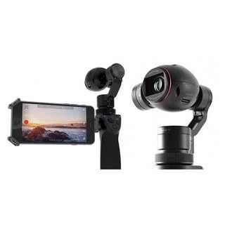 DJI osmo+ plus 紅圈 可變焦 手持相機 ;送原廠底座