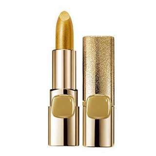 L'Oréal Paris Colour Riche Metallic Lipstick #629 Pure Gold