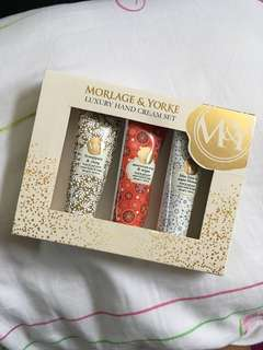 Morlage & Yorke Luxury Hand Cream Set