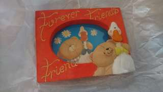 Forever Friends hand painted photoframe