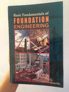 Basic Fundamentals of Foundation Engg by Besavilla