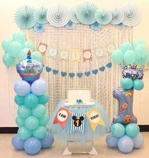 🚚 Birthday deco set