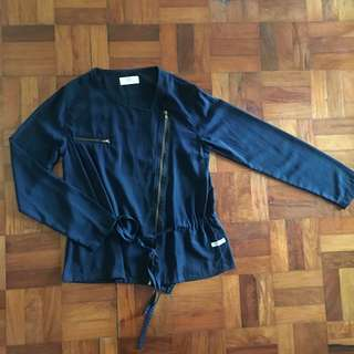 BAYO Dark Blue Light Jacket / Blazer