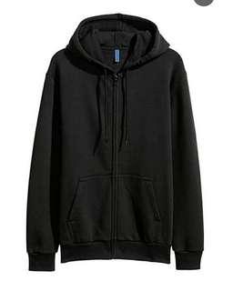 Jaket Hoodie Sweater H&M