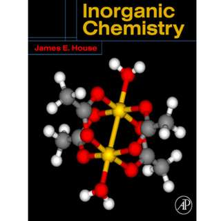 Inorganic Chemistry By James E. House (865 Page Mega eBook)