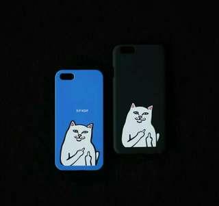 Case Ripndip iphone 5 5s SE 6 6s 6+ 7 7+ 8+ casing hardcase