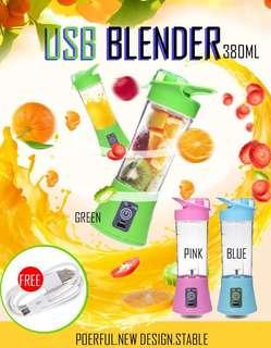 Usb recharge blender