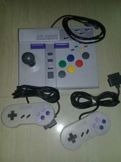 Nintendo snes advantage controller bundle