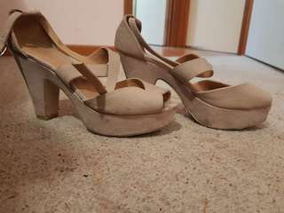 Size 7 heals wedge