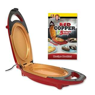 Red copper 5 minutes chef