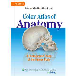 Color Atlas of Anatomy: A Photographic Study of the Human Body (548 Page Mega eBook)